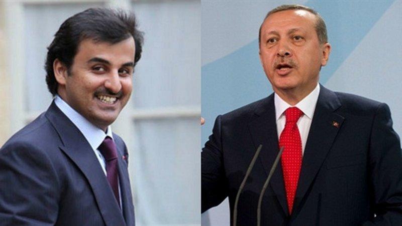 """طعنة في ظهر """"أردوغان"""" من حليفه """"تميم"""".. ماذا فعل في أمريكا؟"""
