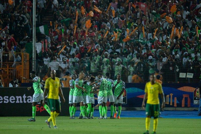 نيجيريا تتأهل للمربع الذهبي لكأس إفريقياعلى حساب جنوب إفريقيا