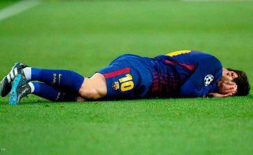 برشلونة في مأزق بسبب إصابة ميسي