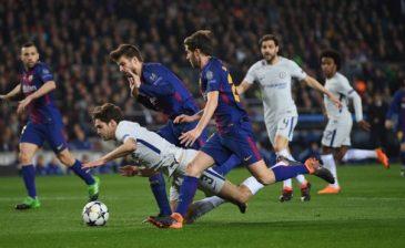 ميسي يقود برشلونة إلى ربع نهائي دوري الأبطال الأوروبي
