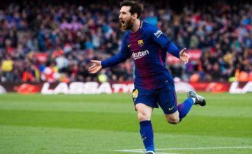 أهداف ميسي تحدث هزات أرضية في برشلونة