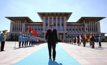 المجمع الرئاسي بأنقرة على موعدٍ مع حفلٍ مهيب لتنصيب أردوغان