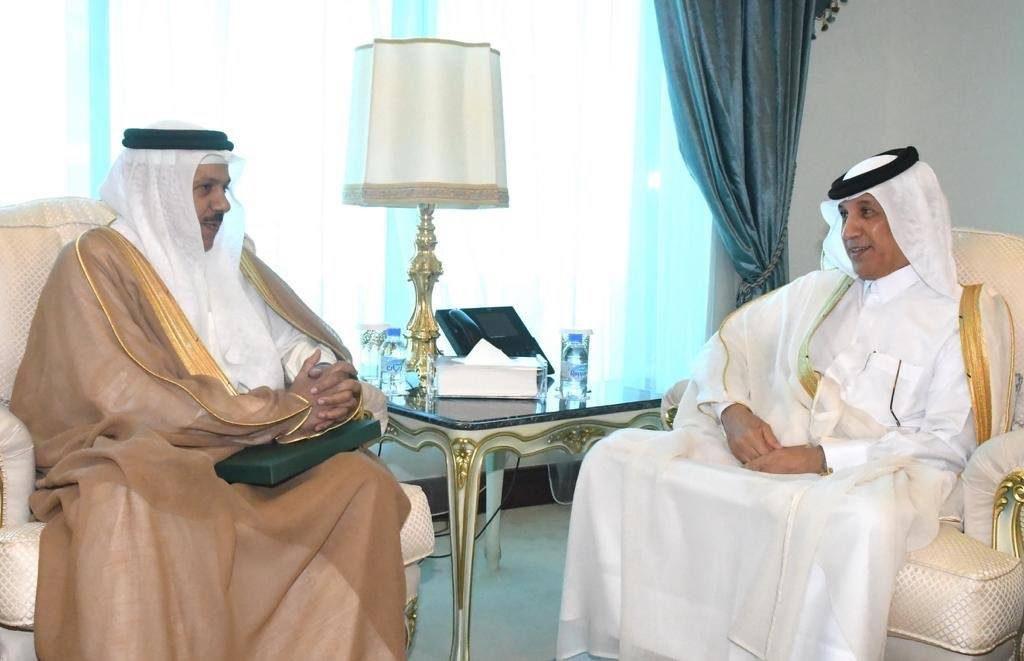أمير قطر يتلقى دعوة من الملك سلمان لحضور القمة الخليجية