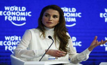 الملكة رانيا تطلق مشروعا للتعليم الإلكتروني المجاني
