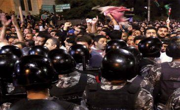 الأمن العام الأردني: القبض على 60 شخصاً لانتهاك القانون خلال الاحتجاجات