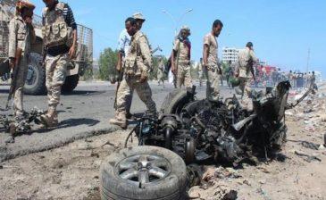 """اليمن .. """"لواء العمالقة"""" يفكّك مفخّخات زرعها المتمردون بمرافق التحيتا الحكومية"""