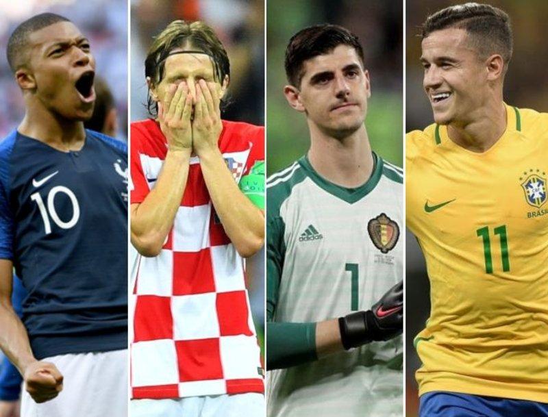غياب آسيوي عربي: فيفا يعلن تشكيلة كأس العالم المثالية