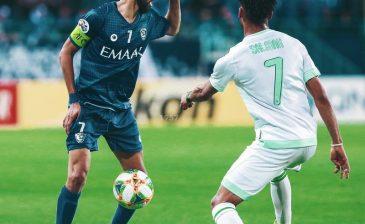 """""""الآسيوي"""": الفرج أفضل لاعب في لقاء الهلال والأهلي"""