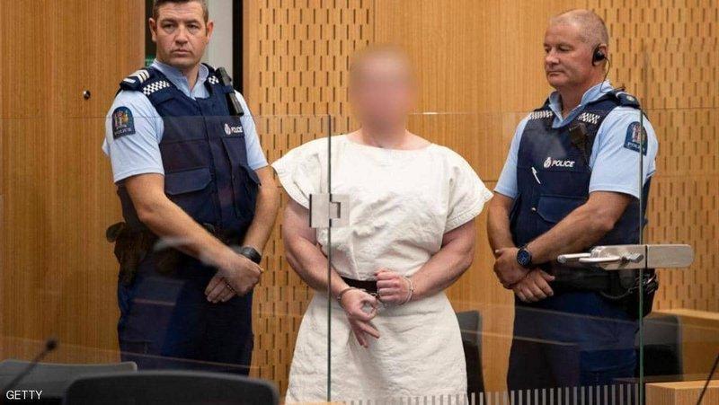 """""""سفاح المسجدين"""" يبعث رسالة كراهية من سجنه واعتذار رسمي نيوزيلندي"""