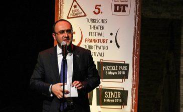"""انطلاق مهرجان """"فرانكفورت المسرحي التركي"""" للتعريف بالثقافة التركية"""