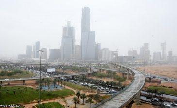 توقعات بهطول أمطار رعدية على الرياض ومعظم المناطق