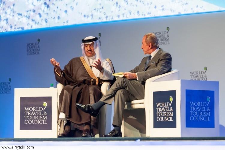 سلطان بن سلمان : المملكة قادمة بقوة لتكون من أهم الدول الجاذبة للسياحة