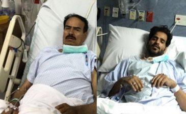 الشراري يتبرع بكليته لوالده وينهي معاناته مع المرض بالجوف