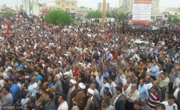 احتجاجات في مدينة «كازرون» الإيرانية اعتراضاً على خطة تقسيم المدينة