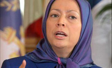 رجوي تدعو الإيرانيين للإطاحة بـ«الفقيه»