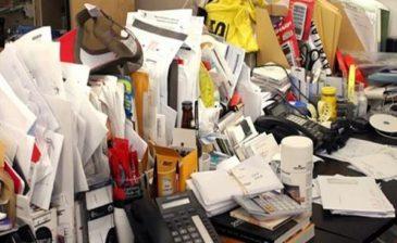 الفوضى على المكتب تحفز الإبداع
