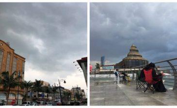 أمطار غزيرة وسيول في جدة