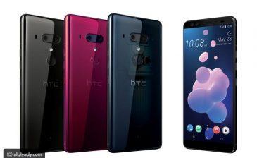 """رسمياً.. """"إتش تي سي"""" تكشف عن مواصفات هاتفها الرئيسي لهذه السنة (HTC U12+)"""