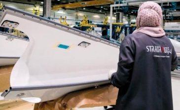 """""""ستراتا"""" تعتزم إنشاء مصنع جديد لإنتاج مواد التقوية لهياكل الطائرات في مدينة العين"""