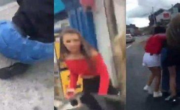 """""""سَبٌّ ورَكْل ونزْع حجاب"""".. شاهد الاعتداء على مراهقة مسلمة في أيرلندا"""