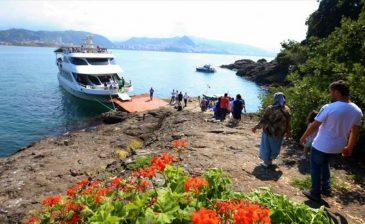 """في جزيرة غيرسون التركية.. متعة مشاهدة """"هرقل"""" و""""نساء الأمازون"""""""