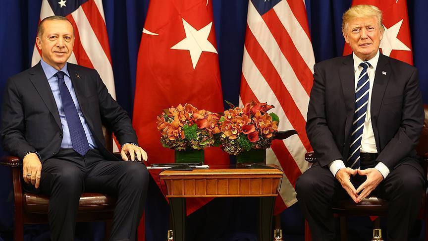 أردوغان يتباحث هاتفيا مع ترامب
