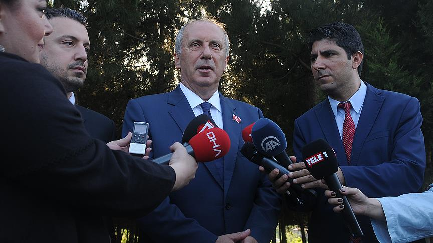 مرشح حزب الشعب الجمهوري يعرض على رئيس حزبه تعيينه رئيسا للحزب